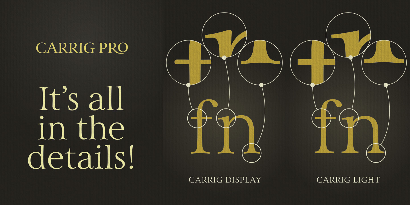 Carrig Pro - Refined Elegance Perfected